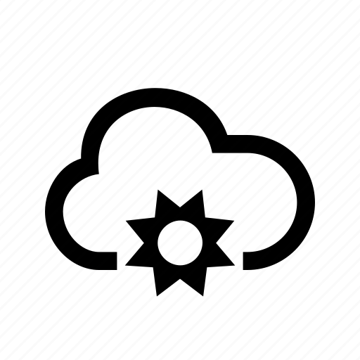 Cloud, sun, weather, cloudy, forecast icon - Download on Iconfinder