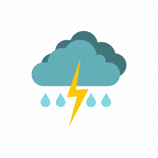 climate, meteorology, rain, sky, storm, thunderstorm, weather icon