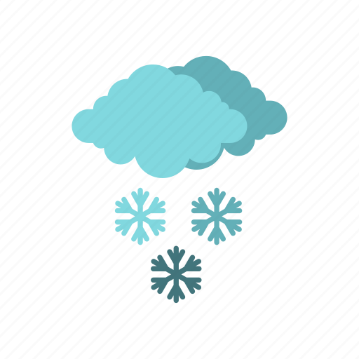 christmas, clouds, cold, holiday, season, snow, winter icon