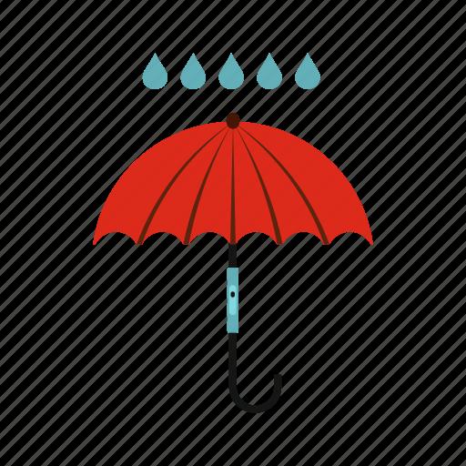 climate, meteorology, rain, sky, storm, umbrella, weather icon
