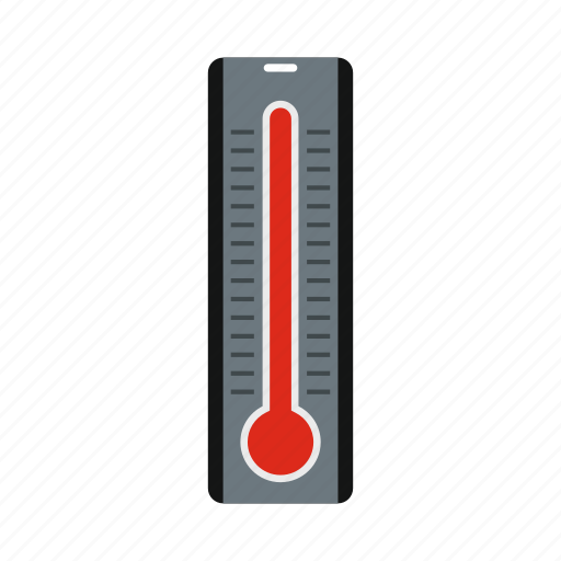 climate, heat, high, season, temperature, thermometer, weather icon
