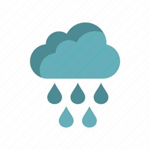 climate, cloud, nature, rain, sky, water, weather icon