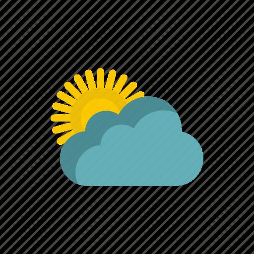 cloud, nature, season, sky, summer, sun, weather icon
