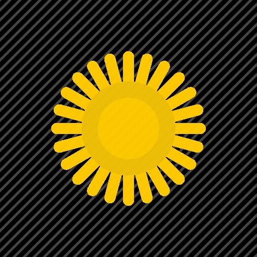glare, heat, hot, sun, sunlight, sunshine, weather icon