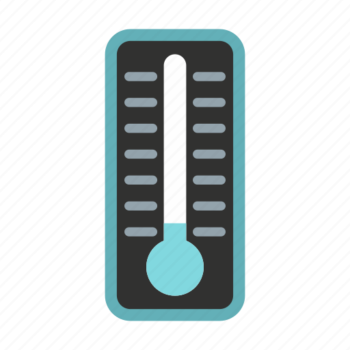 cold, instrument, sky, snow, snowflake, thermometer, winter icon