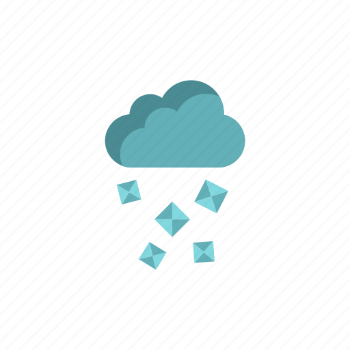 cloud, element, forecast, hail, meteorology, nature, weather icon