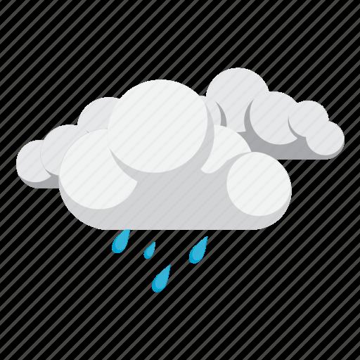 cloud, cloudy, rain, weather icon