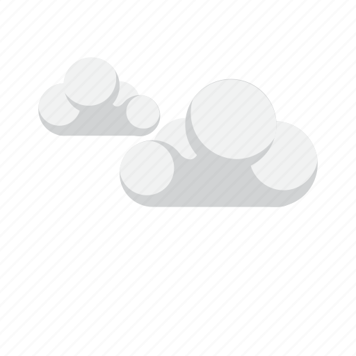 climate, clouds, forecast, wind icon