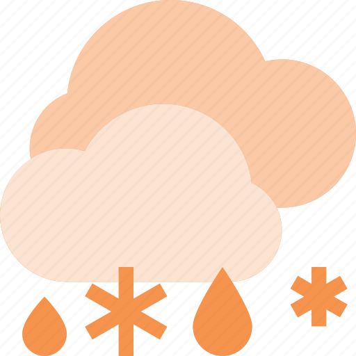 forcast, snow, snowing, snowy, weather icon