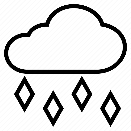 Cloud, hail, hailstone, ice, rain icon - Download on Iconfinder
