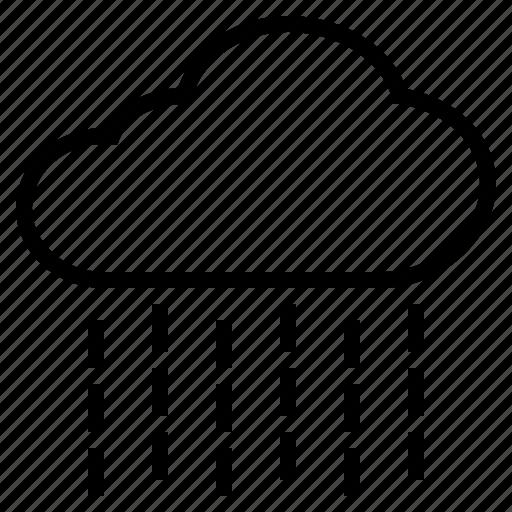 Cloud, rain, raindrop, rainfall, rainy, wet icon - Download on Iconfinder