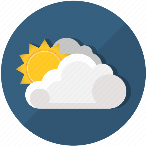 clouds, meteorology, summer, sun, sunrise, sunset, weather icon