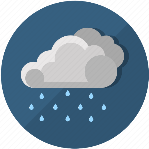 clouds, cloudy, meteorology, rain, rainy, temperature, weather icon