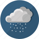 cloudy, cold, frost, meteorology, snow, temperature, weather icon