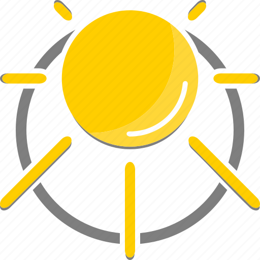 clear, summer, sun, sunny, weather icon icon