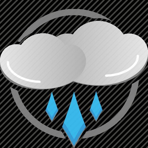 cloud, rain, rainy, weather icon, wet icon