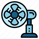 cooler, electronics, fan icon