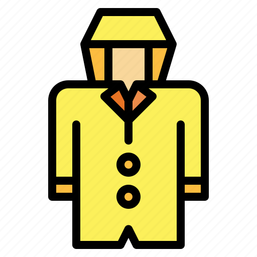 clothing, rain, rainy icon