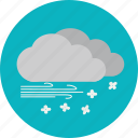 blizzard, snowstorm, weather, winter icon