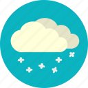 daylight, snowfall, snowy, weather, winter icon
