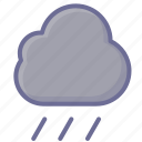 cloud, cloudy, rain icon