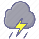 cloud, clouds, cloudy, rain, shower icon