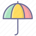protection, summer, umbrella icon