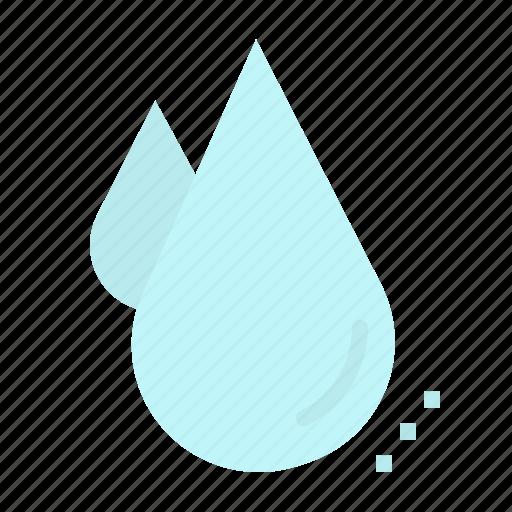 atmospheric, drops, humidity, rain, weather icon