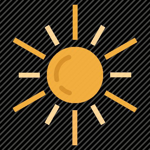 cute, meteorology, summer, summertime, sun, sunny, warm, weather icon