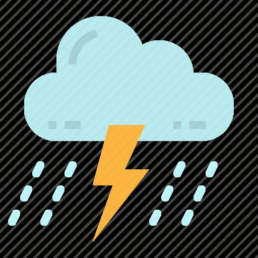 bolt, lightning, storm, thunder, thunderstorm icon