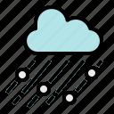 climate, cloud, cool, rain, snow icon