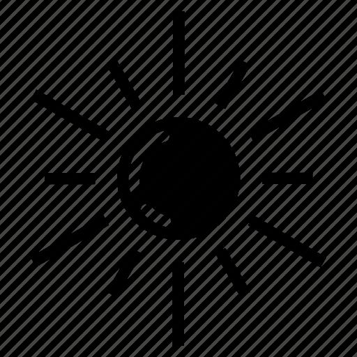 meteorology, summer, summertime, sun, sunny, warm, weather icon