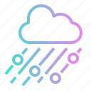 climate, cloud, cool, rain, snow icon