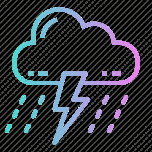 Bolt, lightning, storm, thunder, thunderstorm icon - Download on Iconfinder