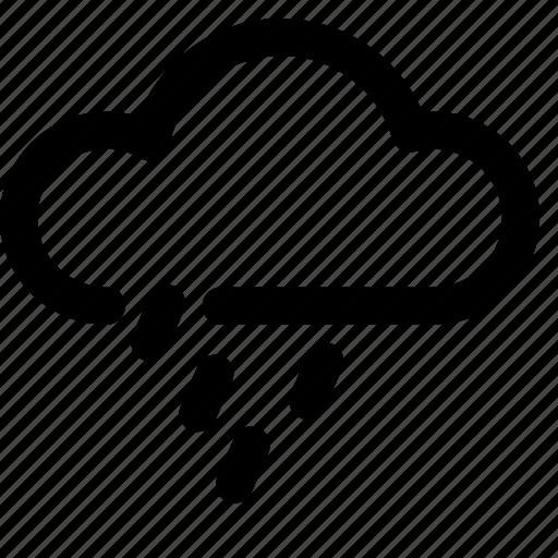 cloud, forecast, rain, rainy, weather icon