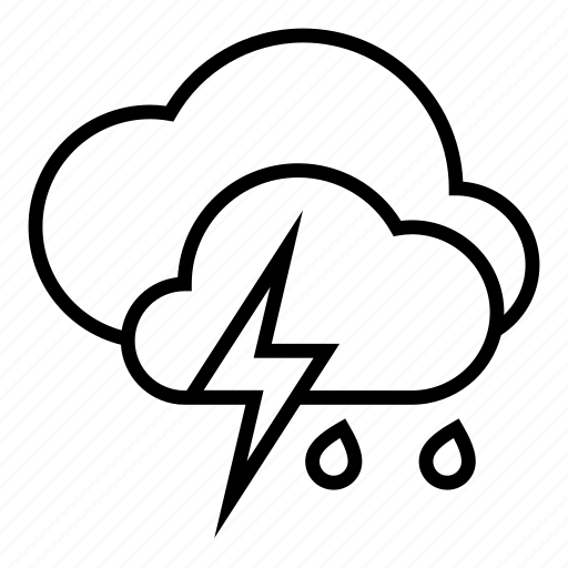 clouds, clouy, storm, weather icon