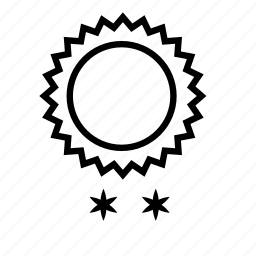 solar, sun, weather, winter icon