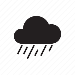 climate, cloud, drizzle, morning, night, rain, weather icon