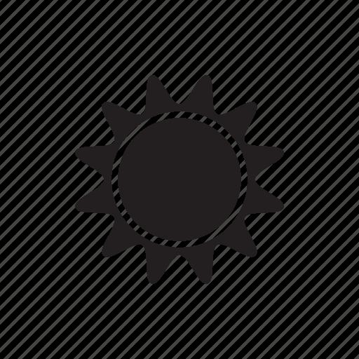 climate, morning, sun, sunny, sunrise, weather icon