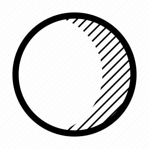 gibbous, moon, phase, waxing icon