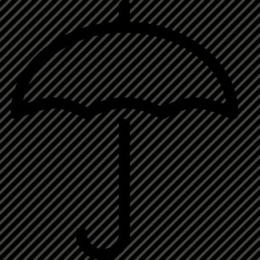 forecast, rain, umberella, weather icon