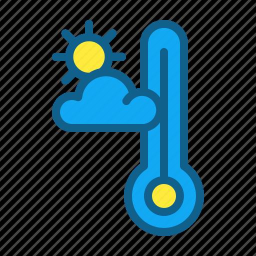 climate, freezing, hot, sun, temperate, temperature icon