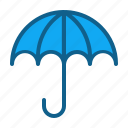 bumbershoot, insurance, parasol, sunshade, umbrella icon