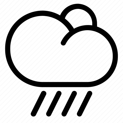 clouds, cloudy, forecast, weather icon