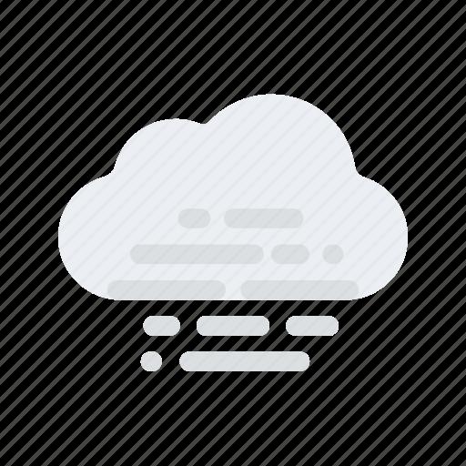 cloud, fog, forecast, mist, season, temperature, weather icon
