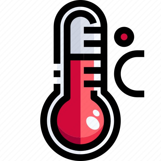 Celsius, degrees, mercury, temperature, thermometer, weather icon - Download on Iconfinder