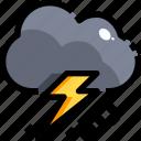 climate, clouds, rain, storm, thunder, thunderbolt, thunderstorm