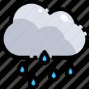 light, meteorology, rain, rainy, sky, storm, weather icon