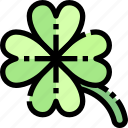 clover, flowers, nature, spring, weather icon