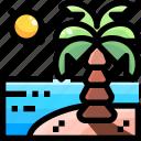 beach, holidays, summer, sun, umbrella, vacations, weather